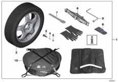 36_1449 Spare tire system
