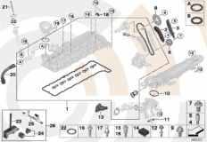 88_0266 Repair kit, exposed timing chain, top